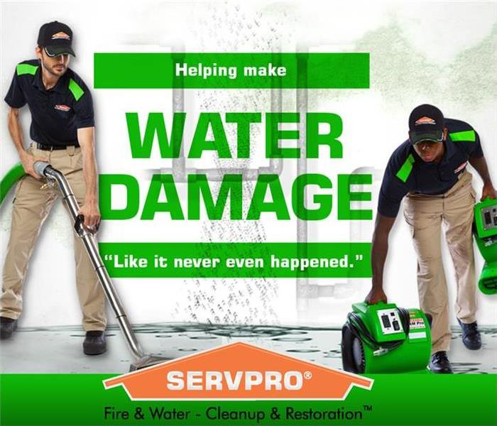 Commercial water damage services