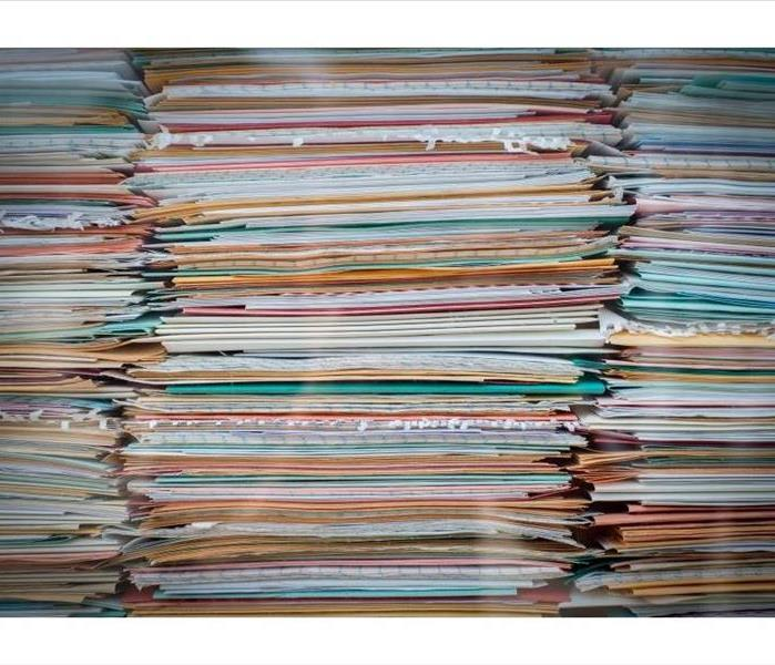 Stacked documents